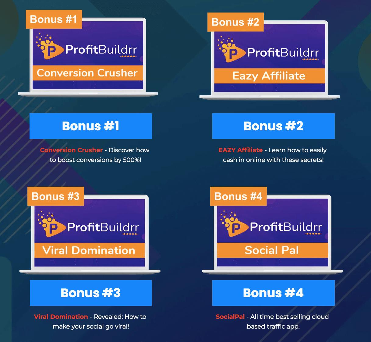 ProfitBuildrr-OTO1-Bonuses