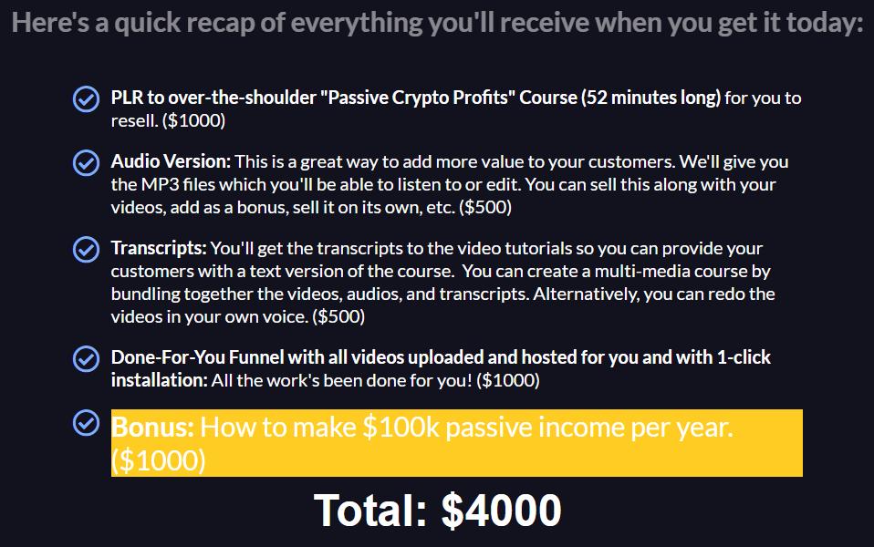 Crypto-Passive-Profits-PLR-price