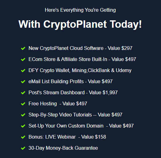 CryptoPlanet-price