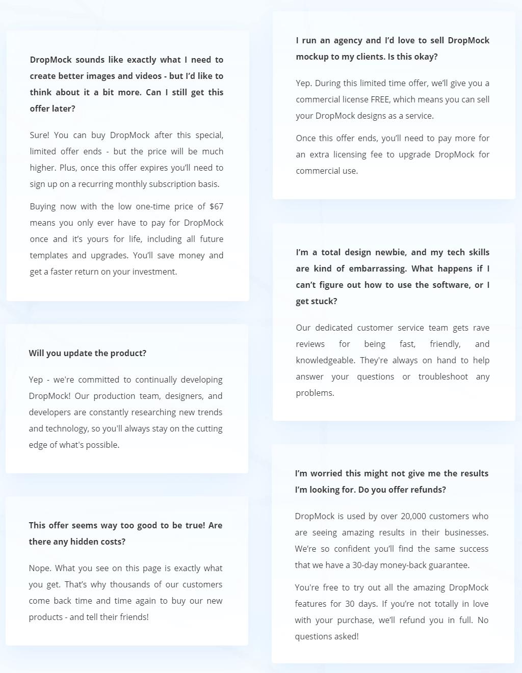 DropMock-All-In-One-Marketing-Portal-faq