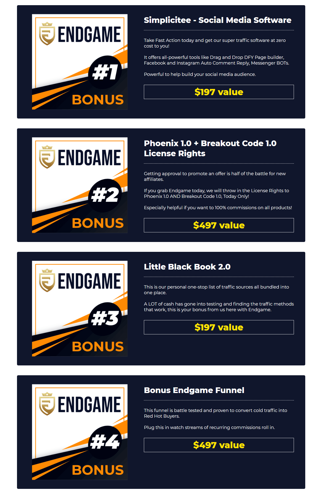 EndGame-Review-Bonuses