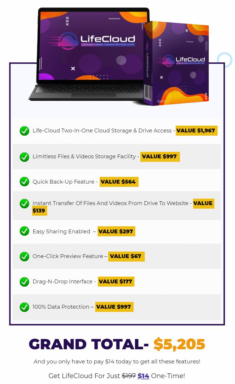 LifeCloud-price