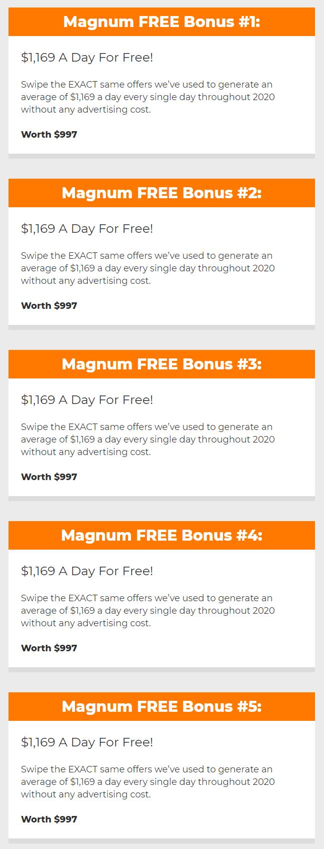 Magnum-bonus