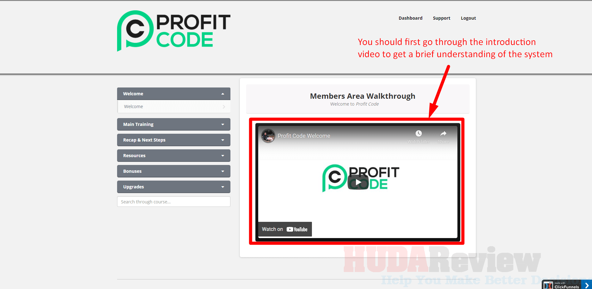 Profit-Code-Step-1