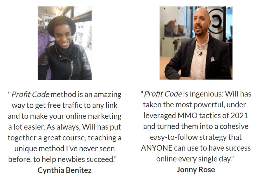 Profit-Code-feedback