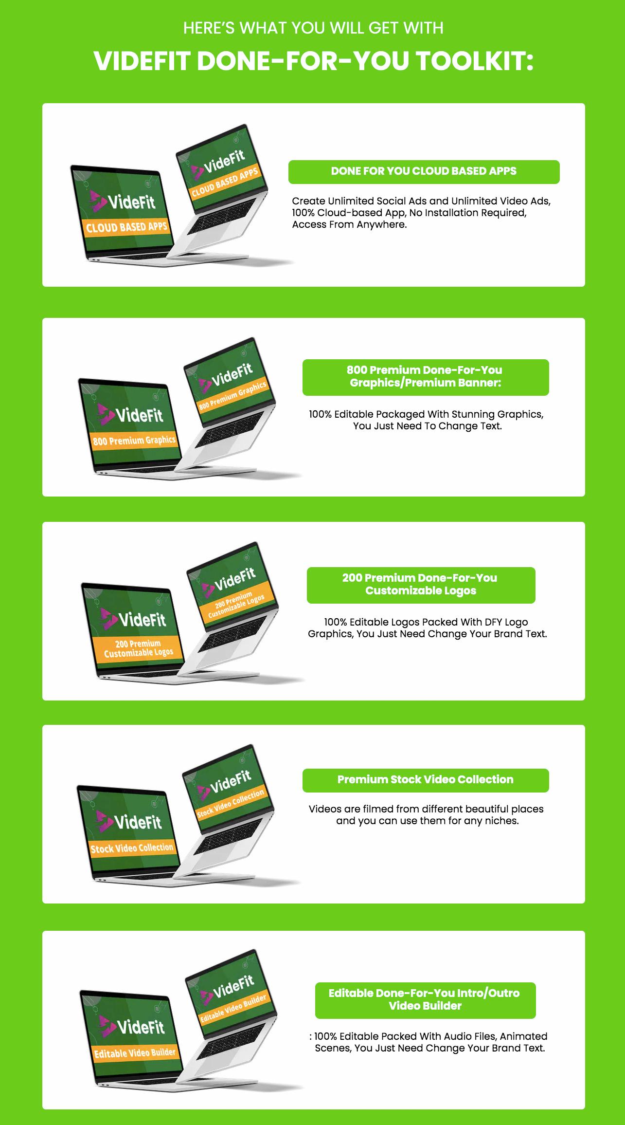 Videfit-OTO3-Features