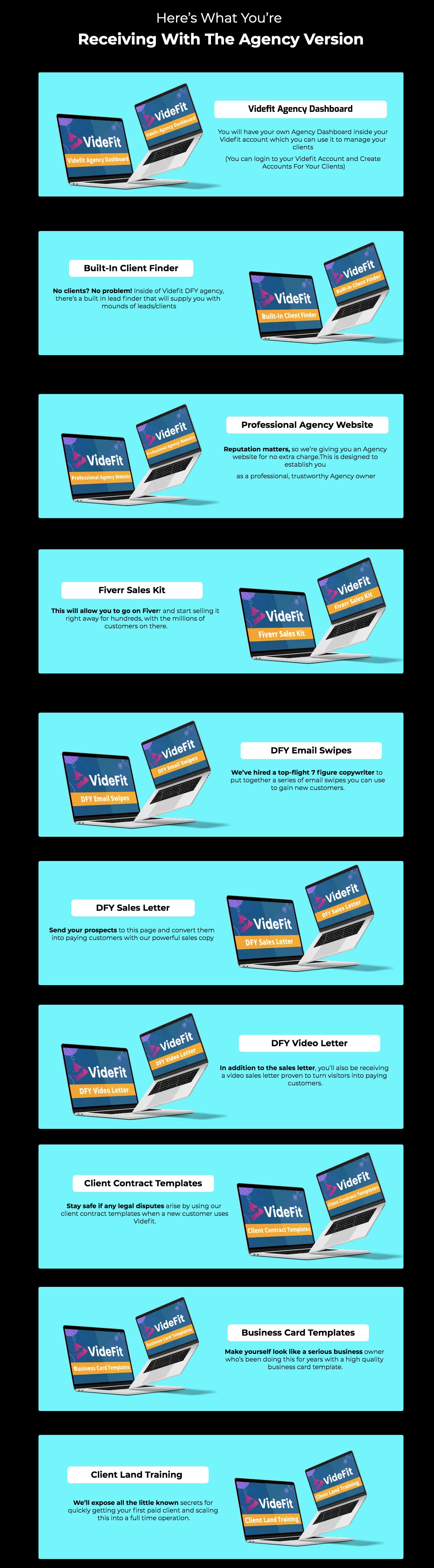 Videfit-OTO4-Features