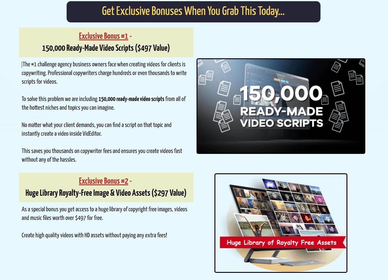 VideoCreator-Bonuses