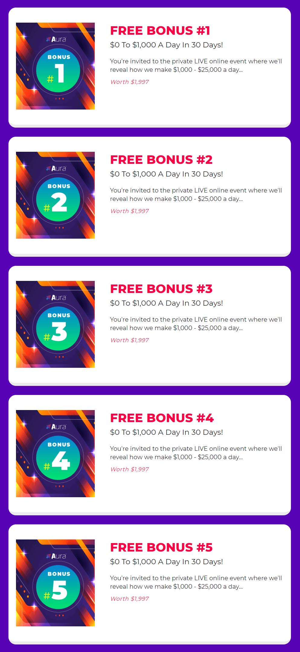 Aura-bonus