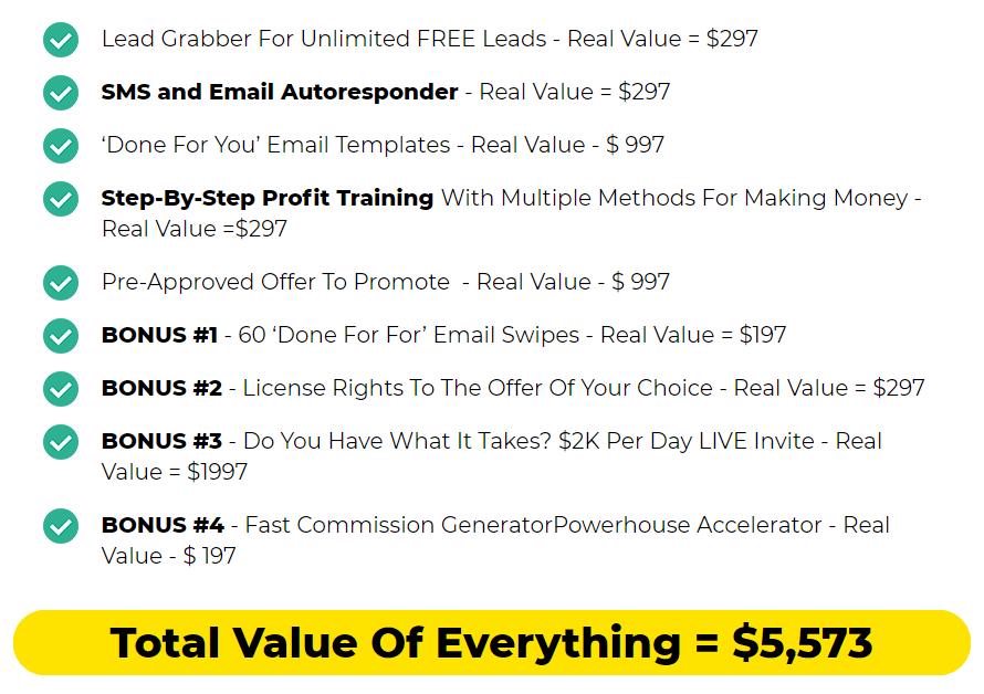 Fast-Commission-Generator-price