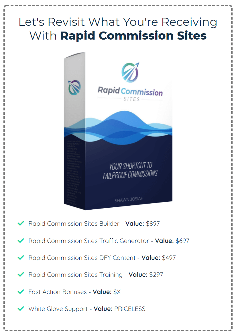Rapid-Commission-Sites-price