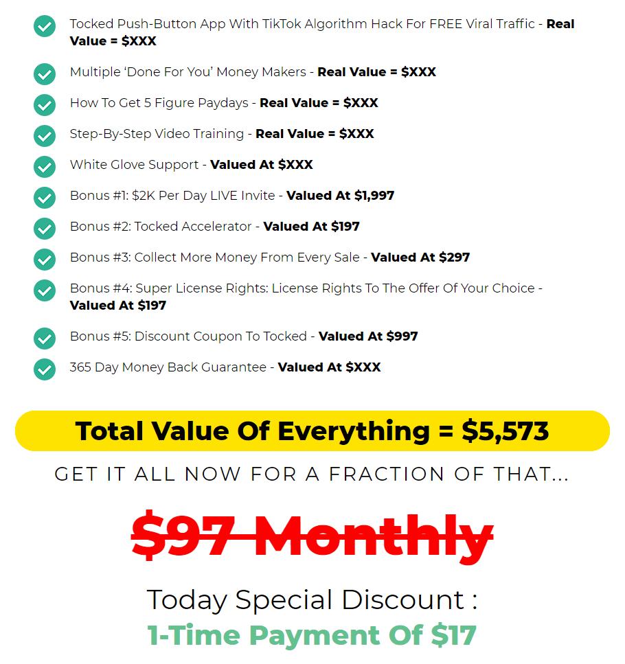 Tocked-price