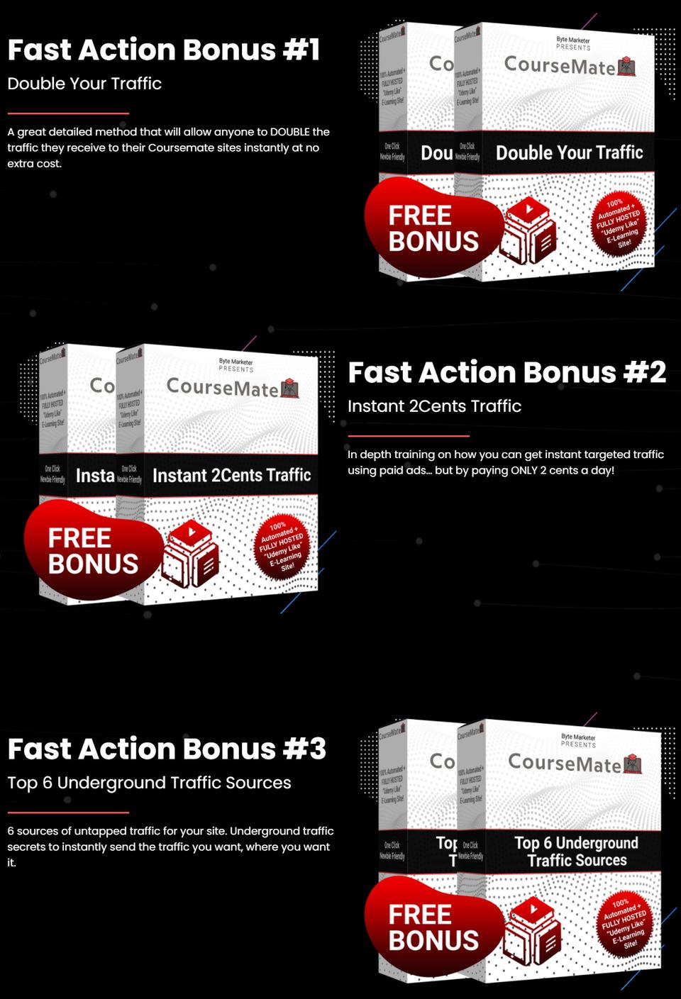 Coursemate-bonus