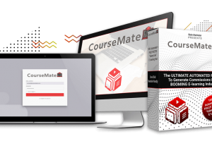 Coursemate Review – The Ultimate Automated Platform To Generate Commissions In The Booming E-Learning Industry