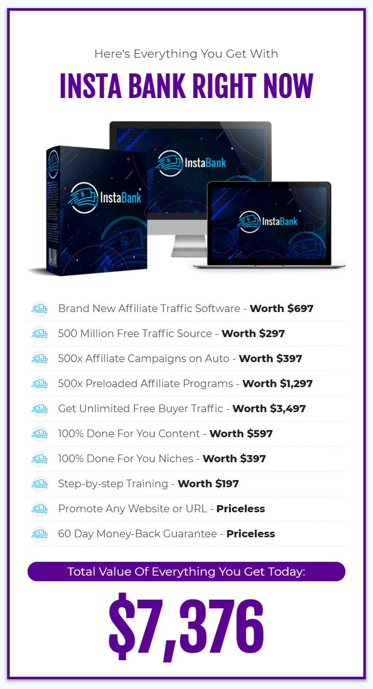 InstaBank-price