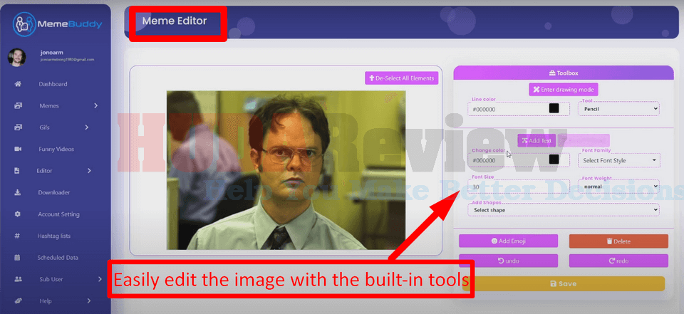 MemeBuddy-demo-4-hot-templates-edit