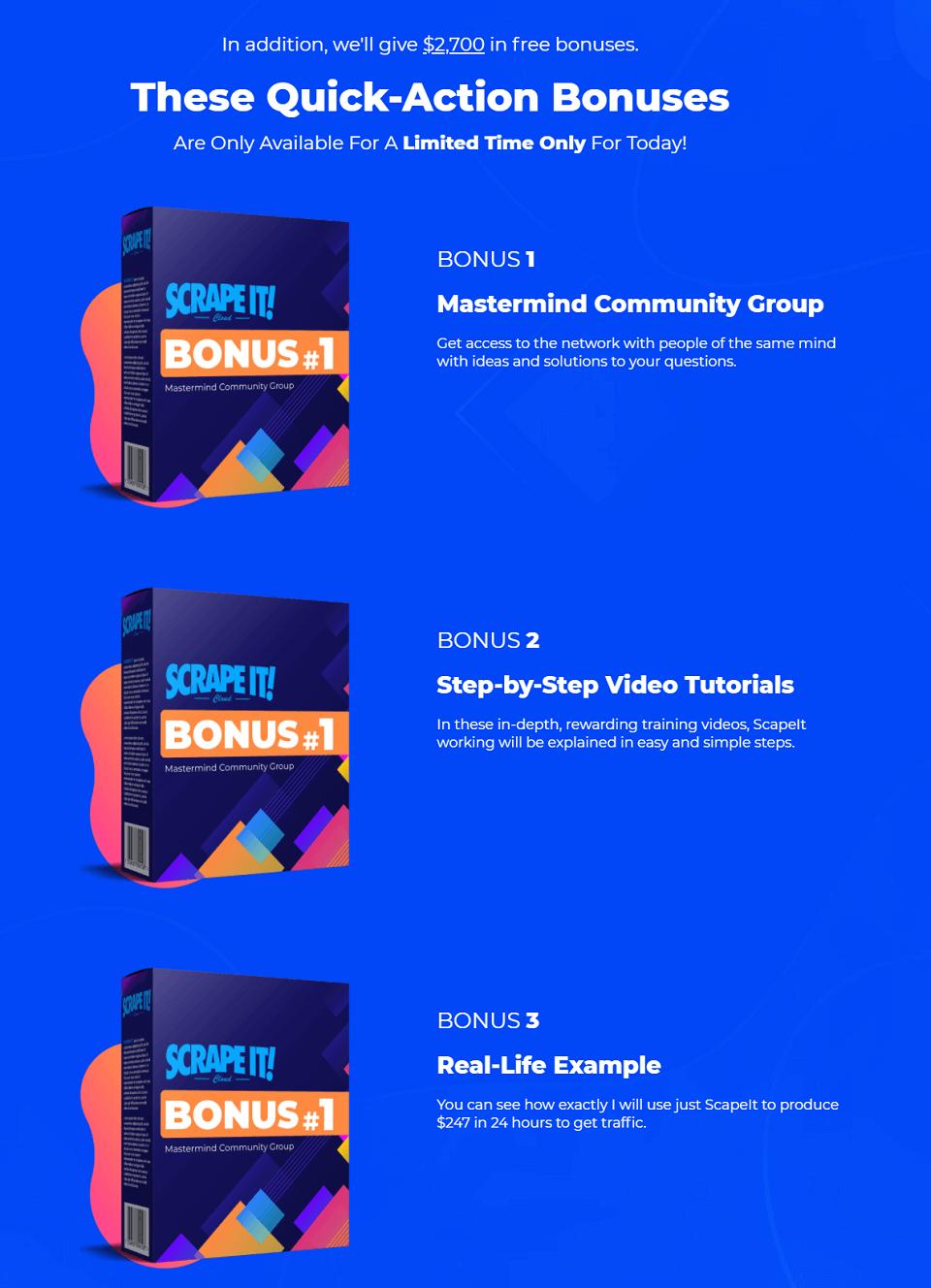 Scrape-It-Bonuses