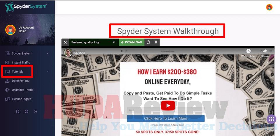 Spyder-System-Step-2