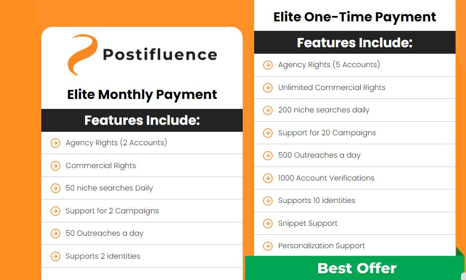 postifluence-price-options