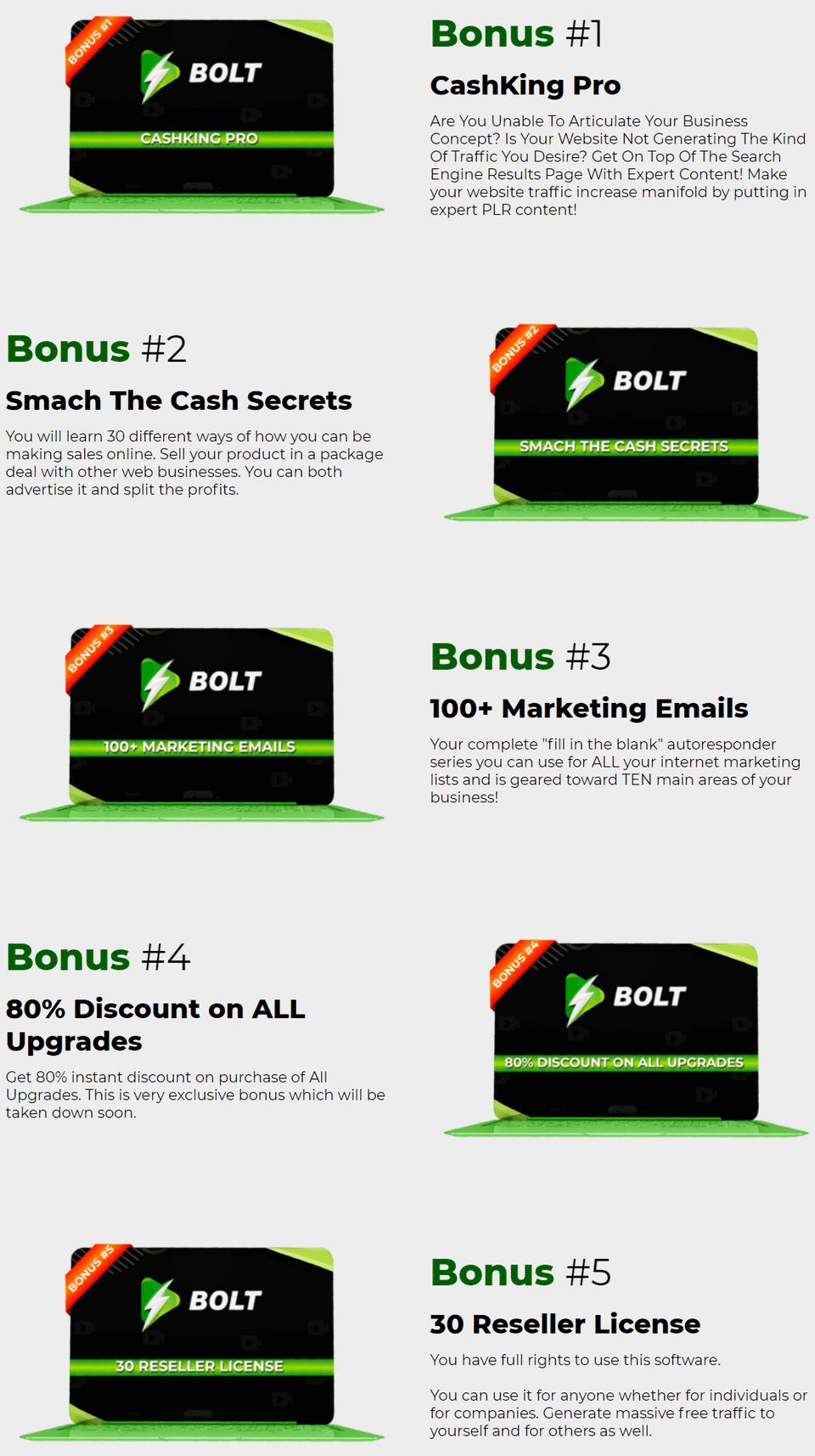 Bolt-bonus