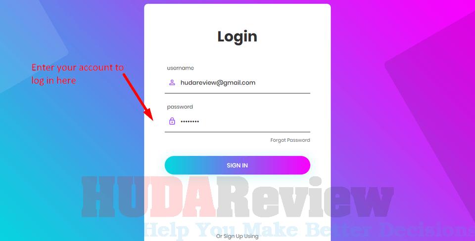 ProfitWriter-demo-1-login