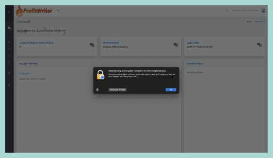 ProfitWriter-feature-9-SSL-Encryption