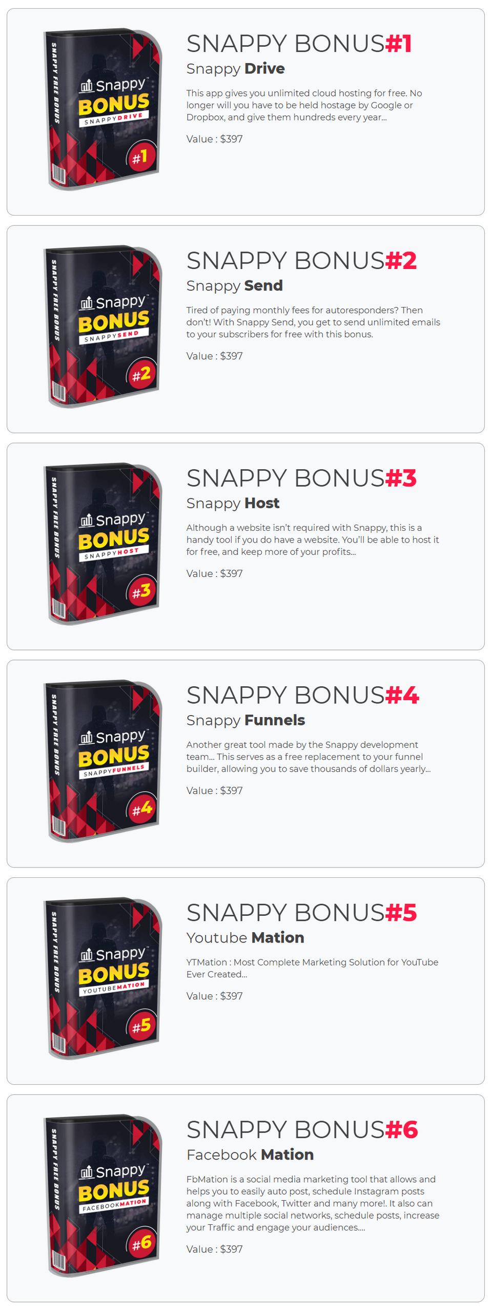Snappy-bonus