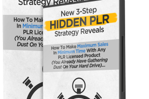 Hidden PLR Review – Make Maximum Sales In Minimum Time With Any PLR Product