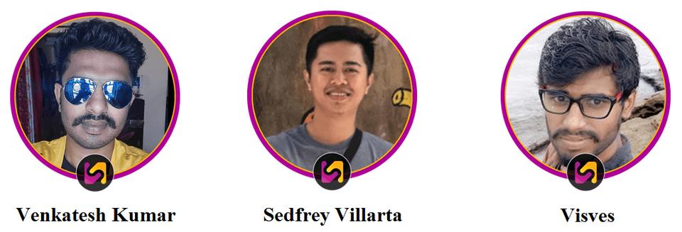 Venkatesh-Kumar-Sedfrey-Villarta-Visves